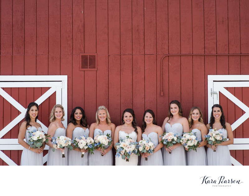 Bridesmaids At Crooked Willow Farms