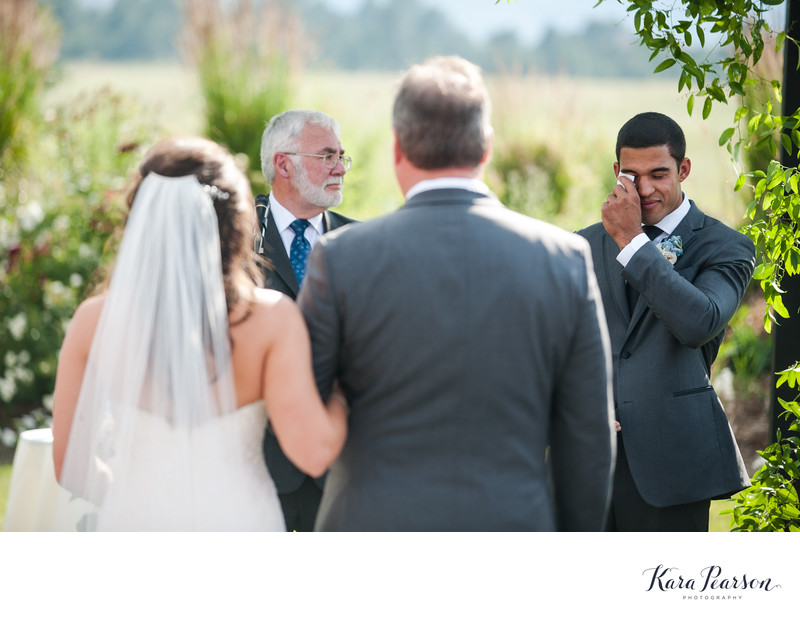 Crooked Willow Farms Wedding in Larkspur