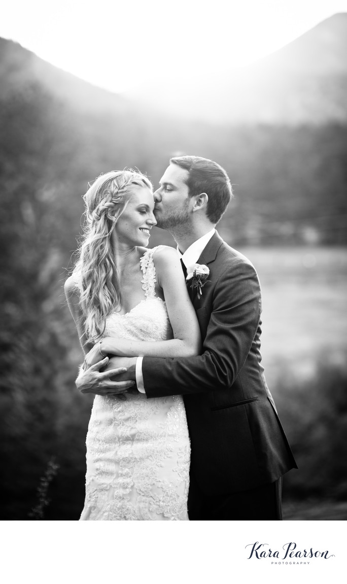 Estes Park Wedding Portraits at Black Canyon Inn