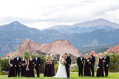 Garden of the Gods Club and Resort Bridal Portraits
