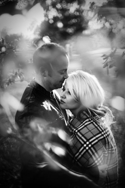 City Park Engagement Portrait