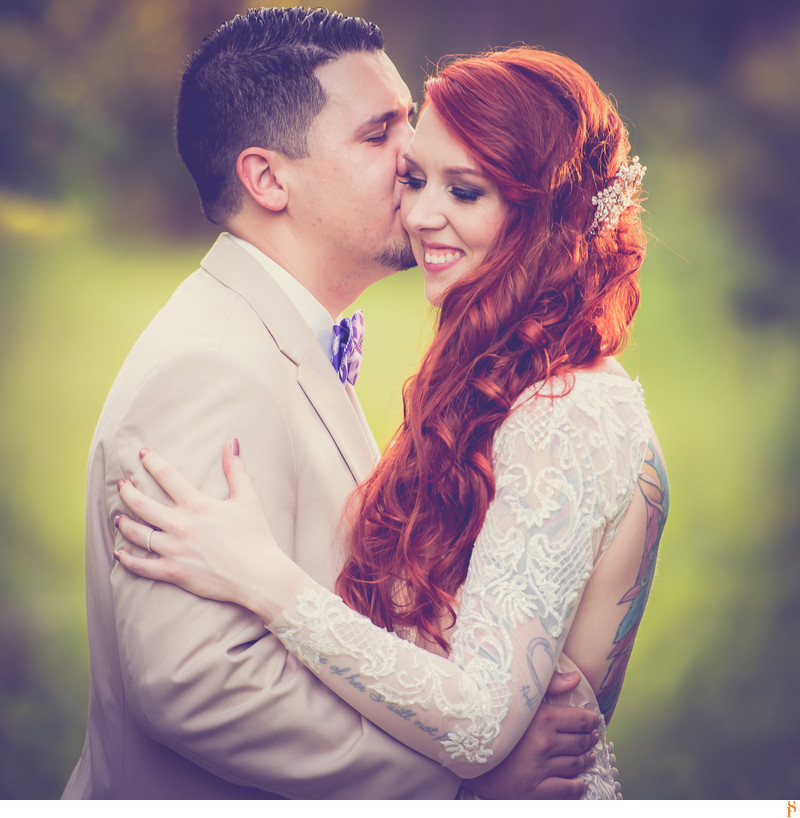 BEST WEDDING PHOTOGRAPHS IN JACKSONVILLE WITH RED HEAD COUPLE