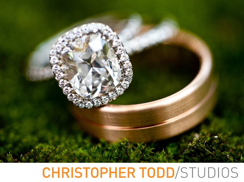Wedding Rings Shady Canyon Wedding