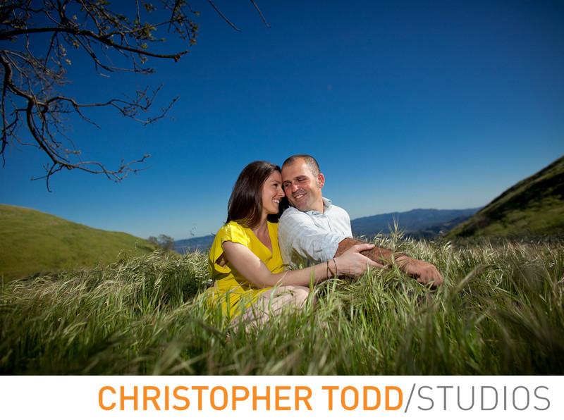 Upper Las Virgenes Canyon Engagement Portrait