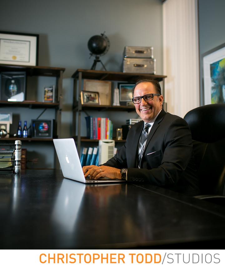 Executive Portrait Orange County Office