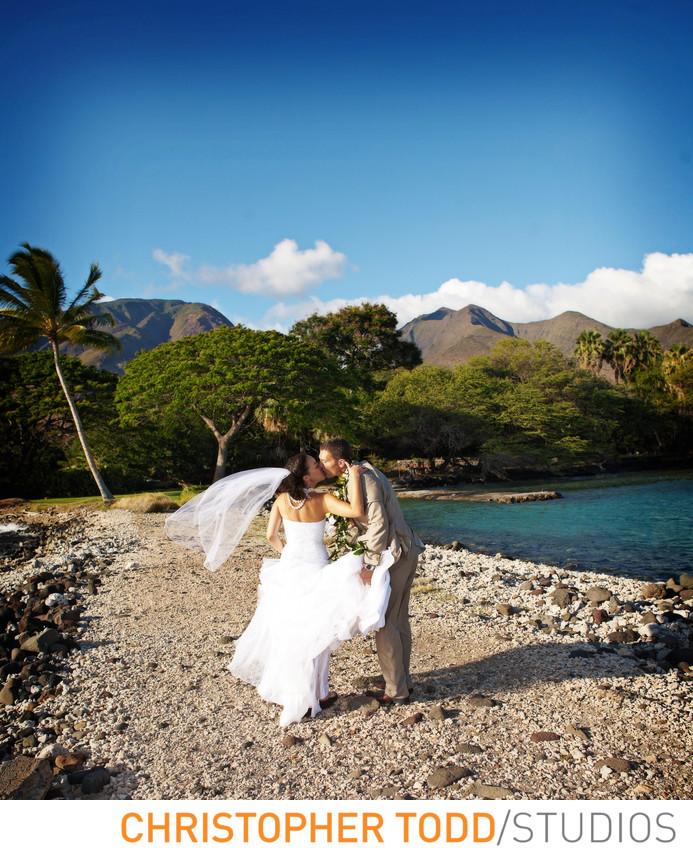 Maui Wedding Photographer Olowalu Plantation House