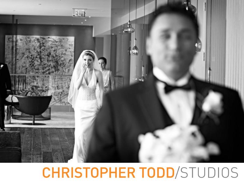 Avenue of the Arts Costa Mesa  Wedding Photographer