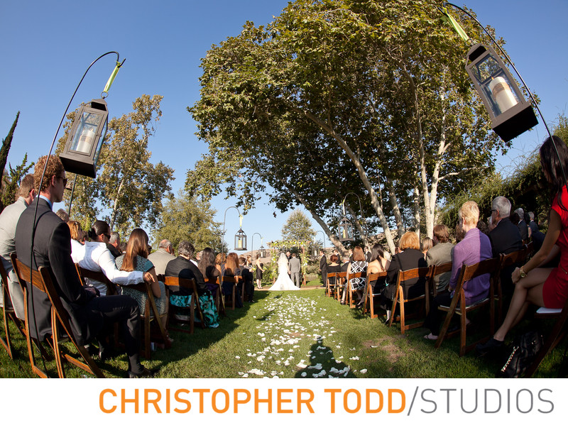 Arroyo Trabuco Outdoor Wedding Ceremony