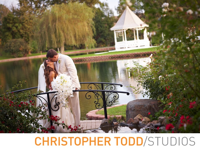 Grand Tradition and Estate Gardens Wedding Photo