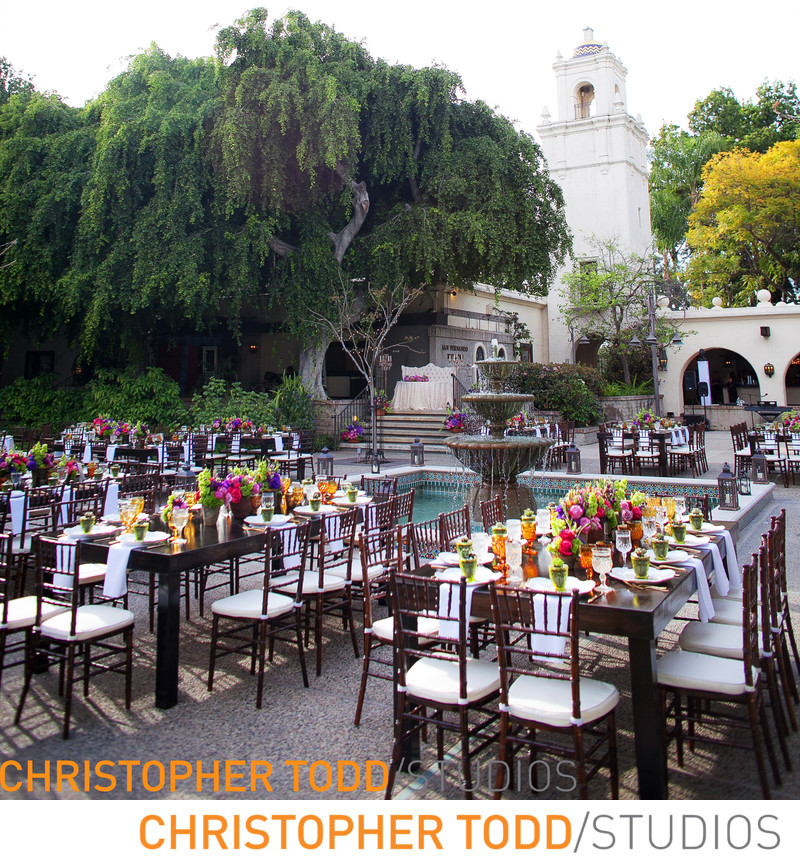 Los Angeles River Center and Gardens Wedding Reception