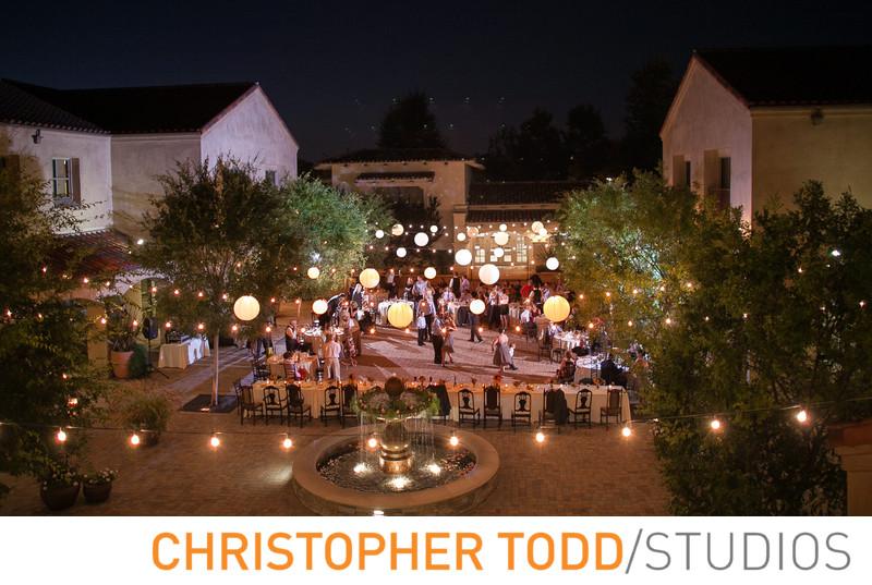 Serra Plaza Courtyard Wedding Reception