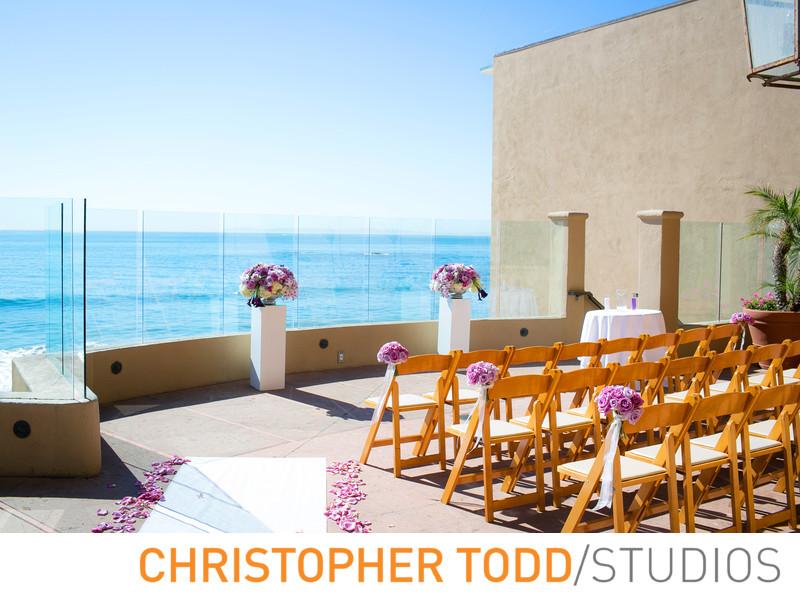 Surf and Sand Resort Wedding Ceremony