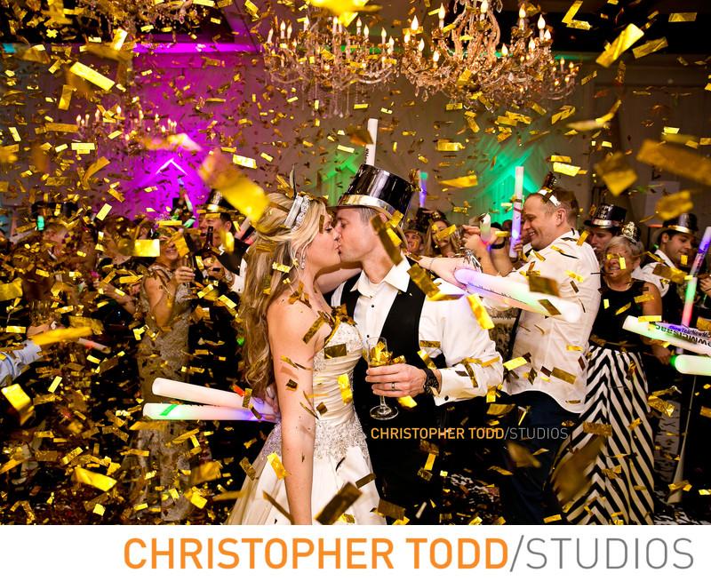 Hyatt Regency Huntington Beach New Years Eve Wedding