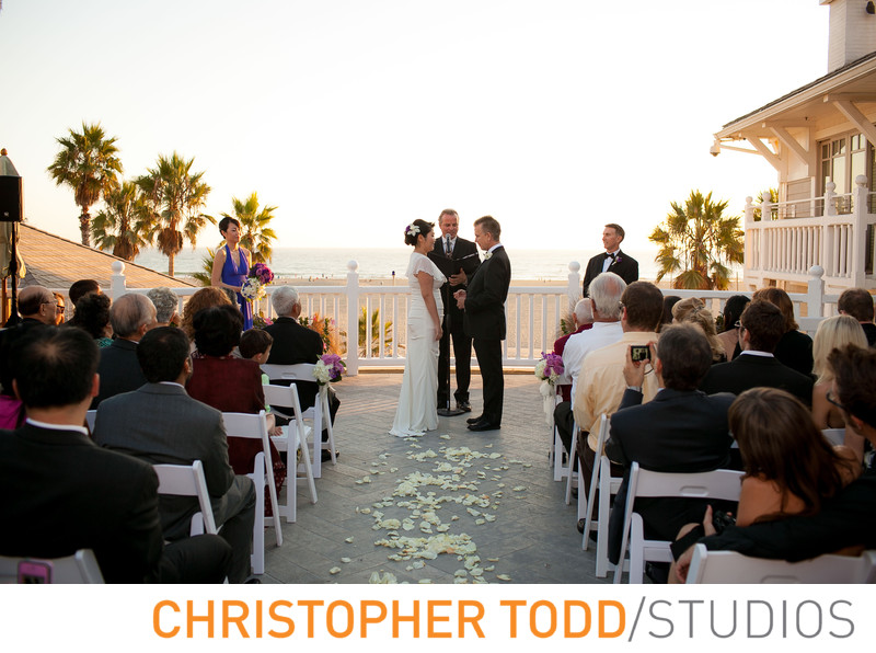 Shutters on The Beach Wedding