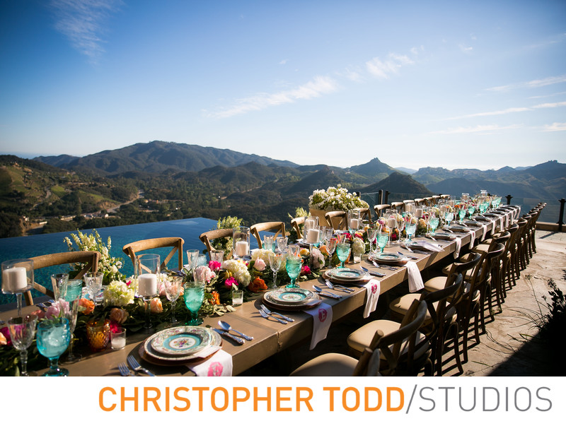 Malibu Rocky Oaks Wedding Reception
