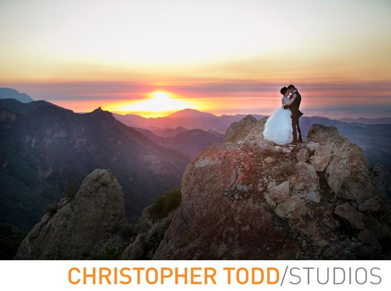 Malibu Rocky Oaks Bride and Groom Photo