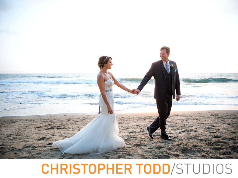 Pacific Edge Hotel Bridal Photos