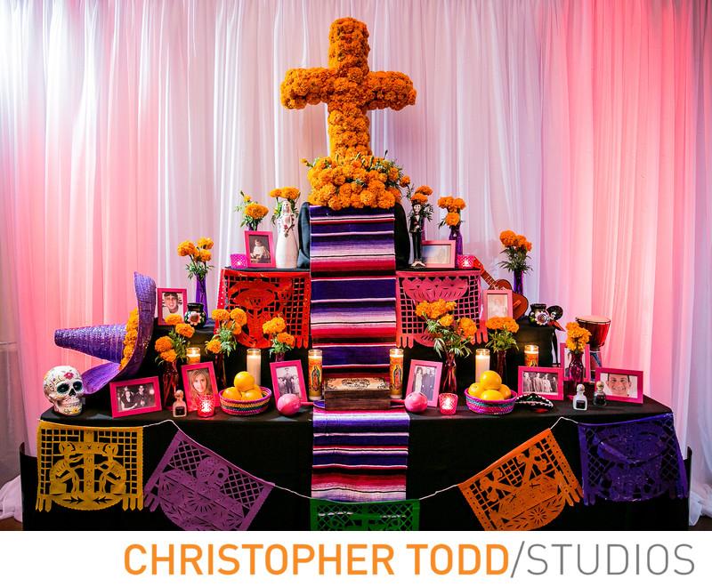 Dia De Los Muertos Wedding Theme
