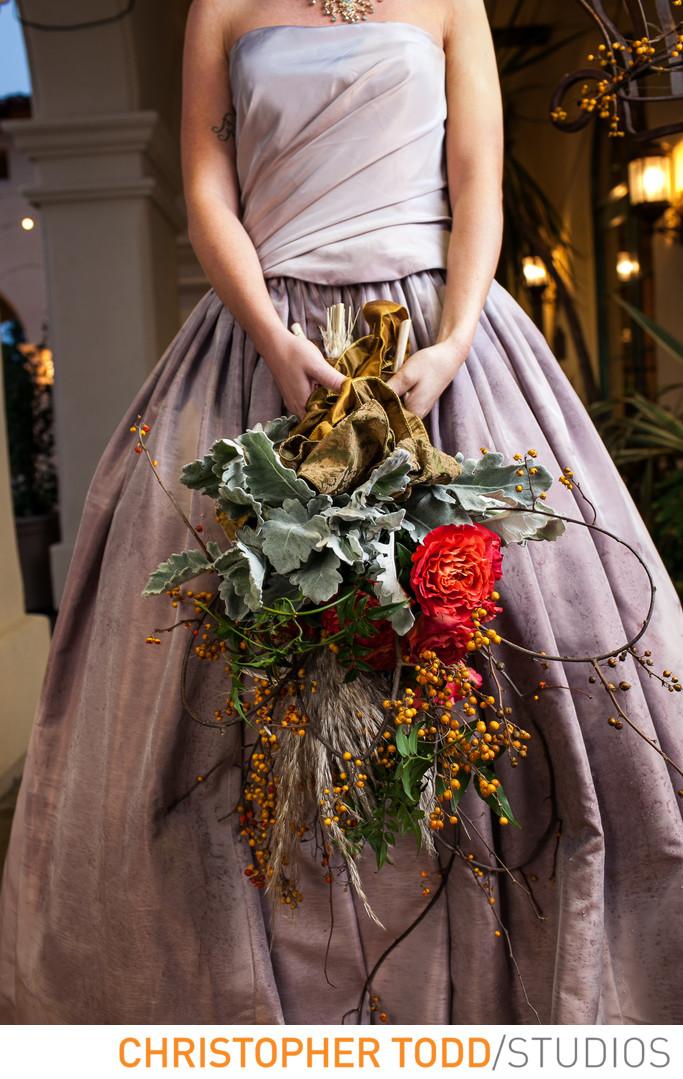 Brides Bouquet Pacific Edge Laguna Beach