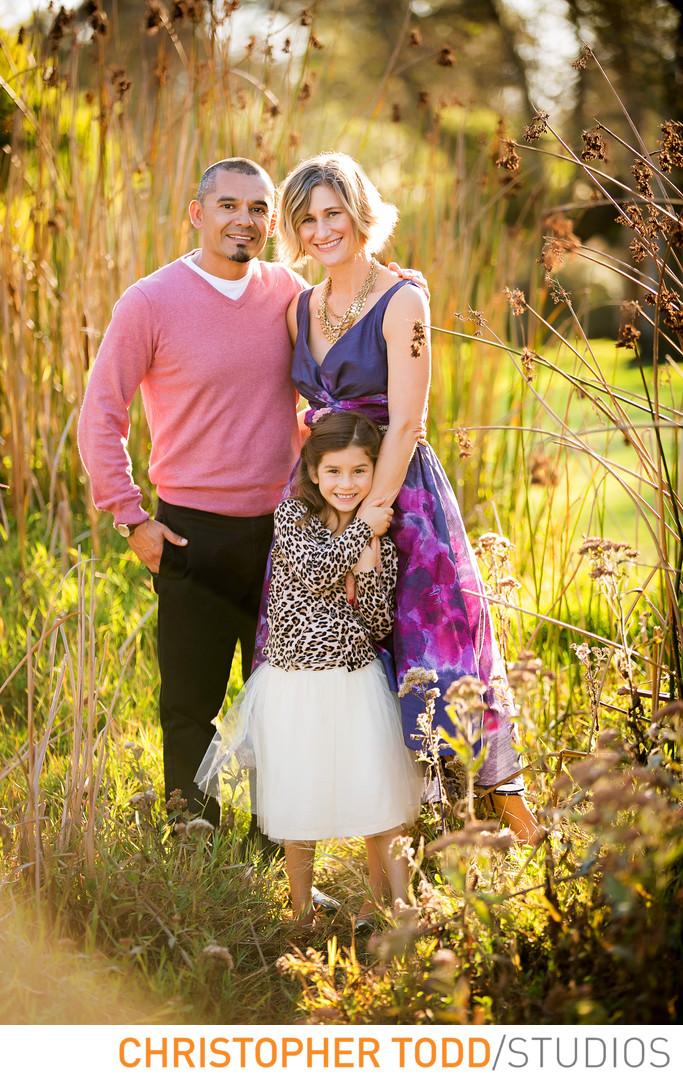 Family Portrait Central Park Huntington Beach