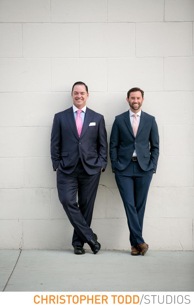 Orange County Attorney Portrait of Partners