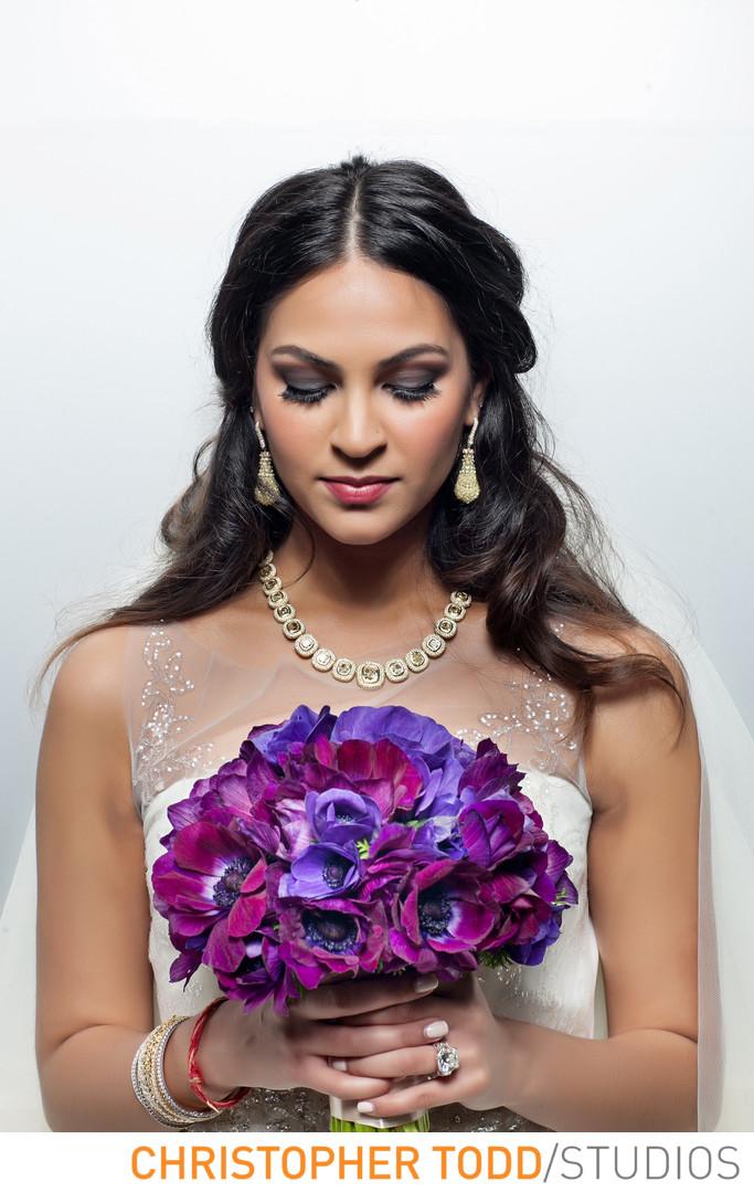 Indian Bride at Island Hotel
