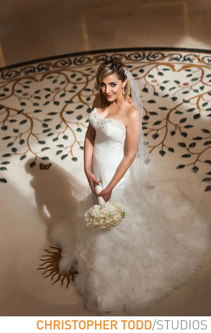 Monarch Beach Resort Wedding Portrait of Bride