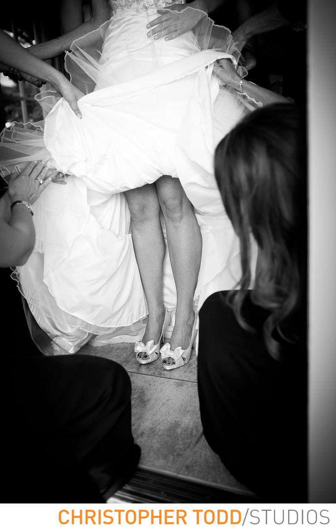 Biltmore Hotel Los Angeles Wedding Bride Getting Ready