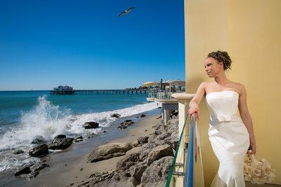 Malibu Beach Inn Wedding Photographer