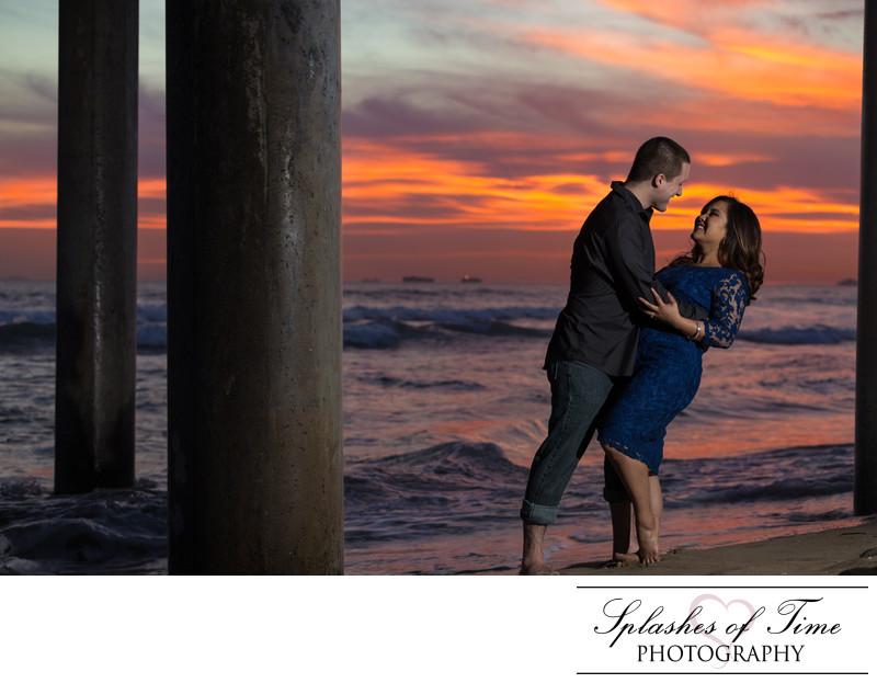 Huntington Beach Engagement Photographer