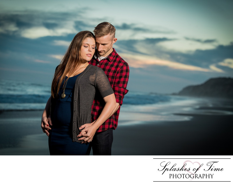 Crystal Cove State Park Engagement Photography
