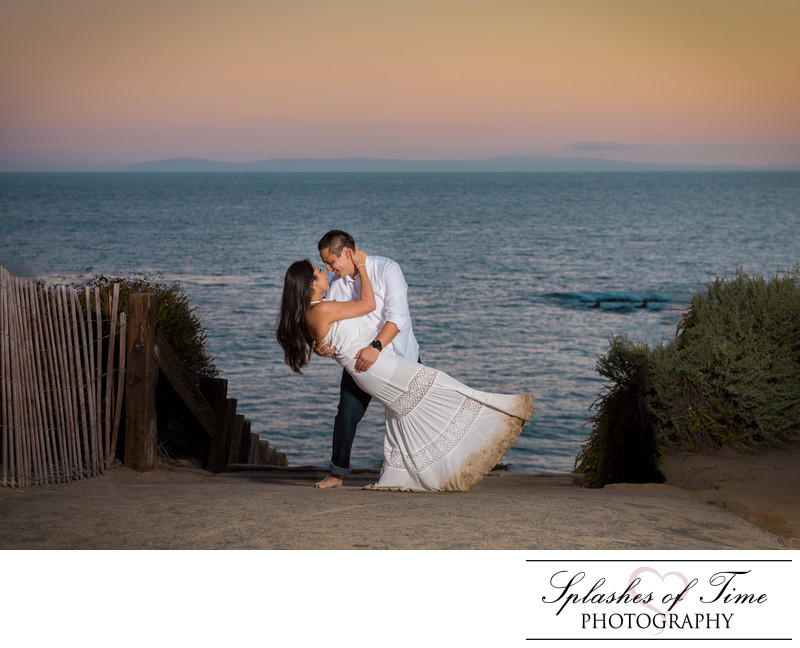 Crystal Cove Beach Engagement Photographer