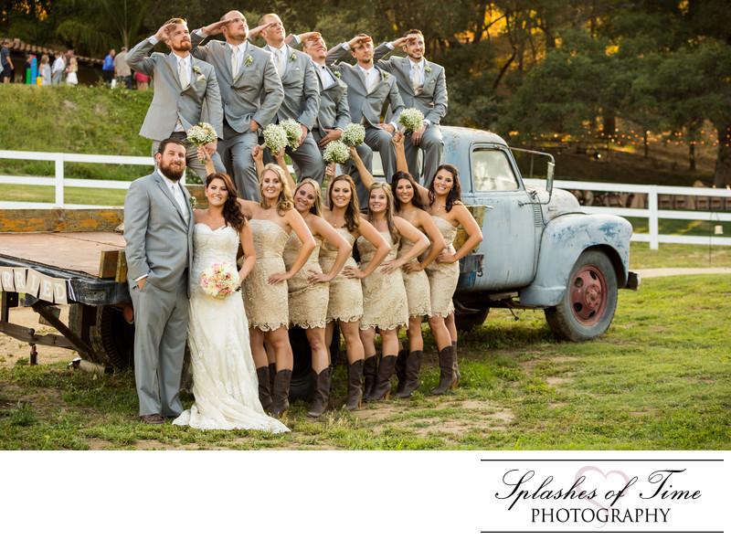 Circle Oak Ranch Wedding