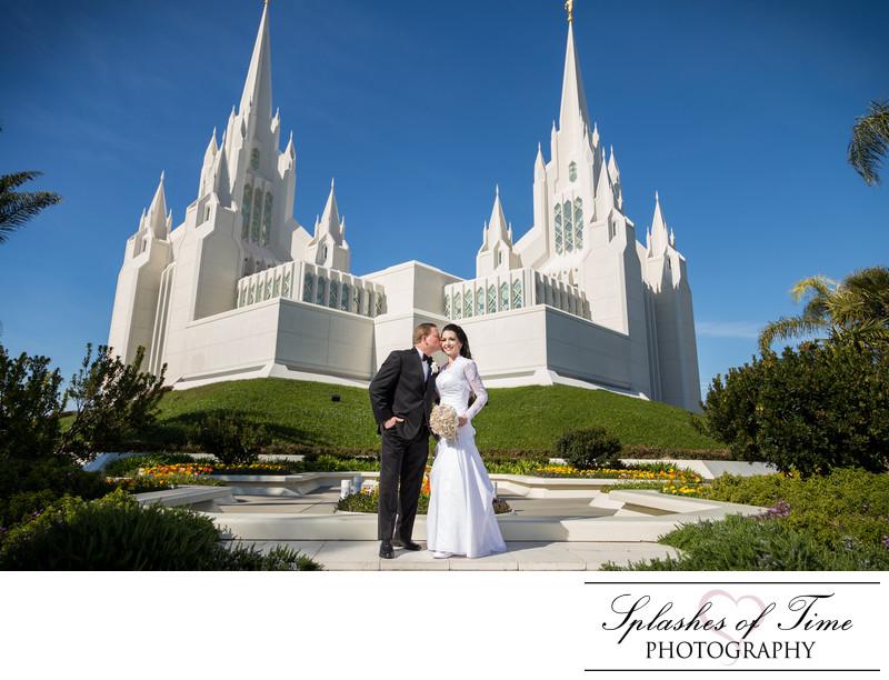 San Diego Temple Photographer