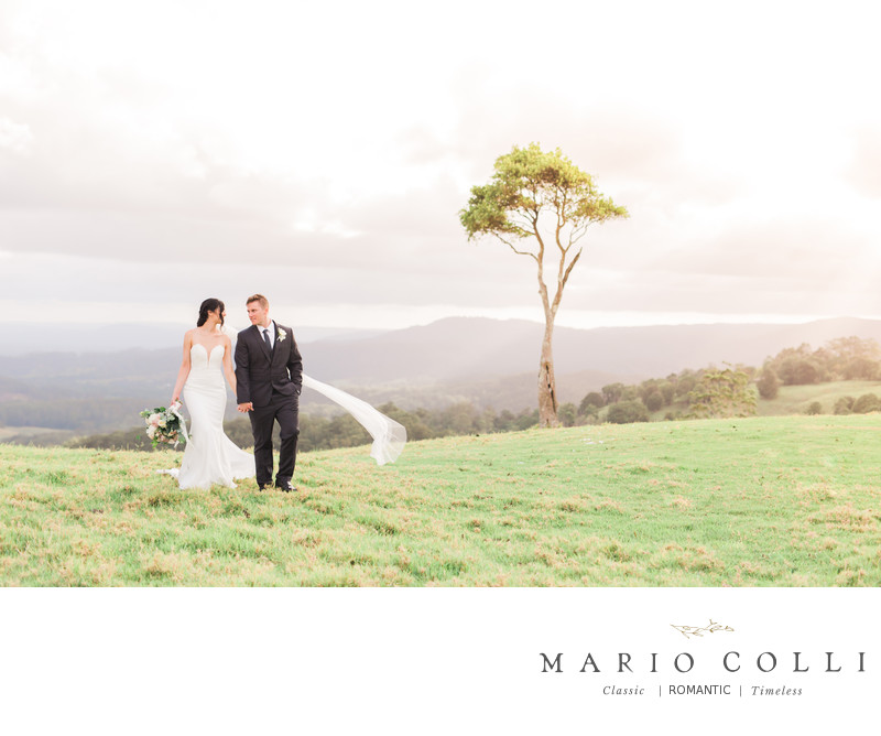 Romantic Sunshine Coast wedding photography