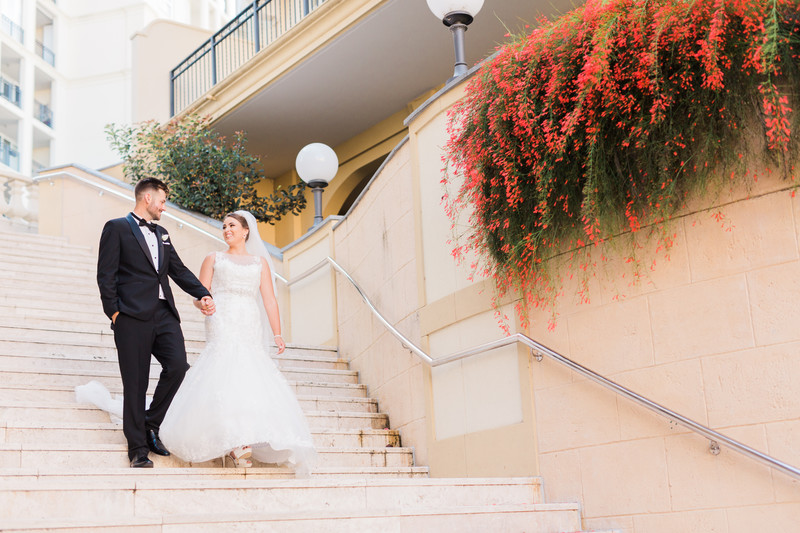 French inspired wedding photos