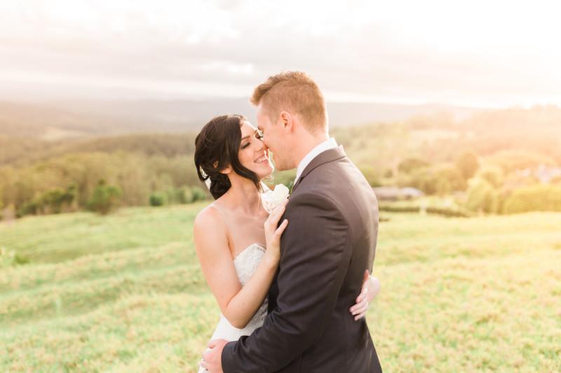 Sunshine Coast Maleny wedding photography One tree hill