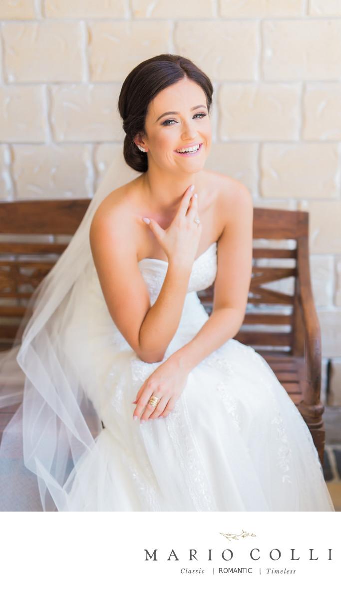 Bride portrait Brisbane wedding photo
