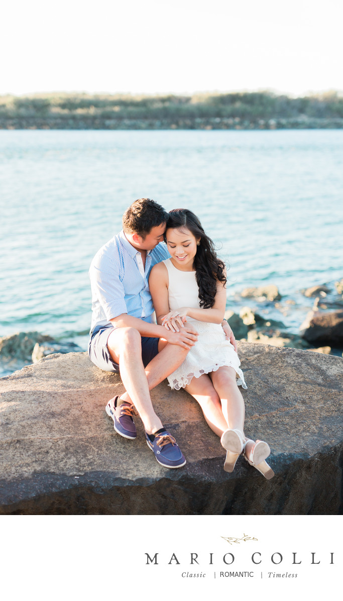 Beach engagement shoot Gold Coast 2