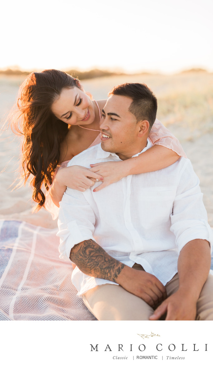 Best Gold Coast beach engagement photography