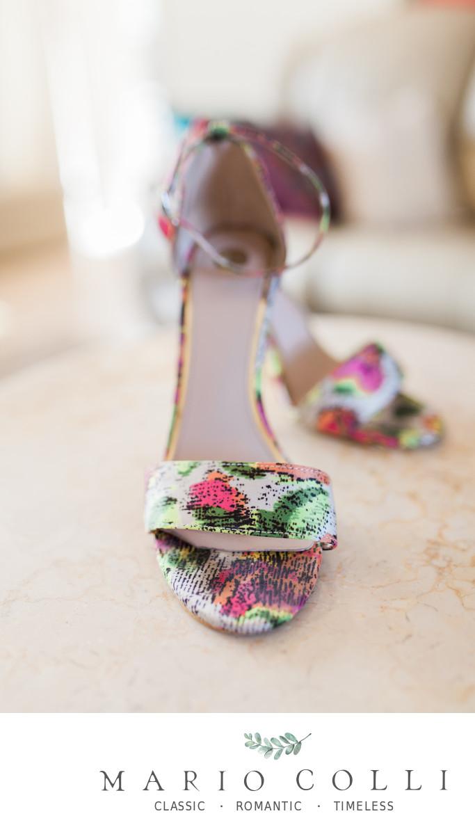 Coloured Bridal Shoes