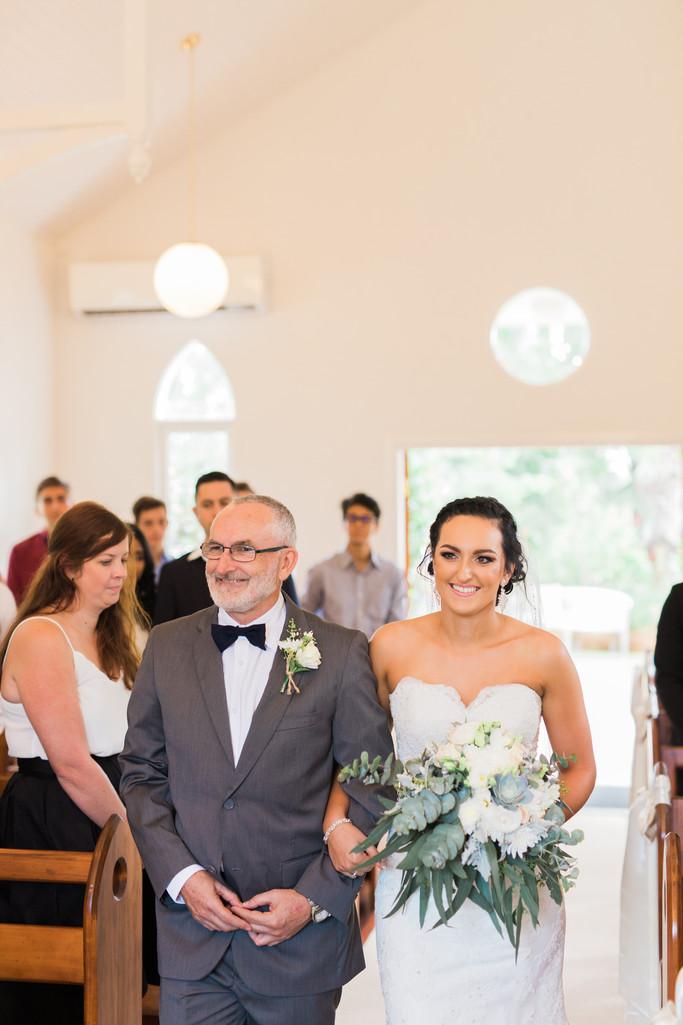 Braeside Chapel wedding photographer Gold Coast