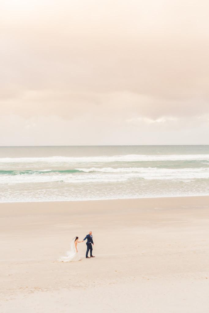 Kingscliff Wedding Photography Mantra on Salt