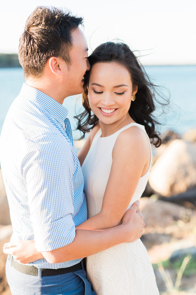 Best Gold Coast wedding photographer Spit engagement