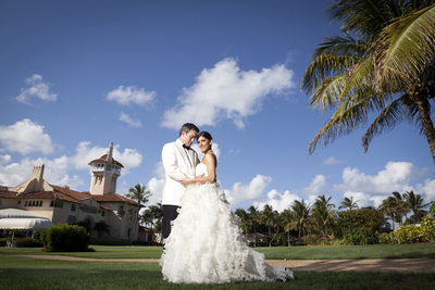 Mar A Lago wedding