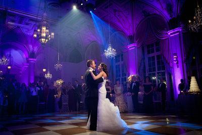 Breakers wedding first dance