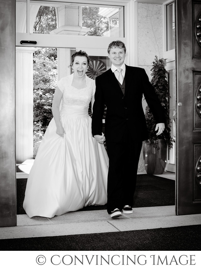 Bountiful Utah Temple Wedding Photography