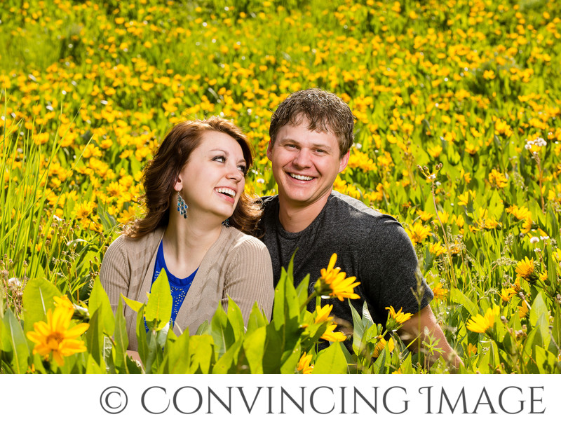 Wedding Photos in Logan Canyon