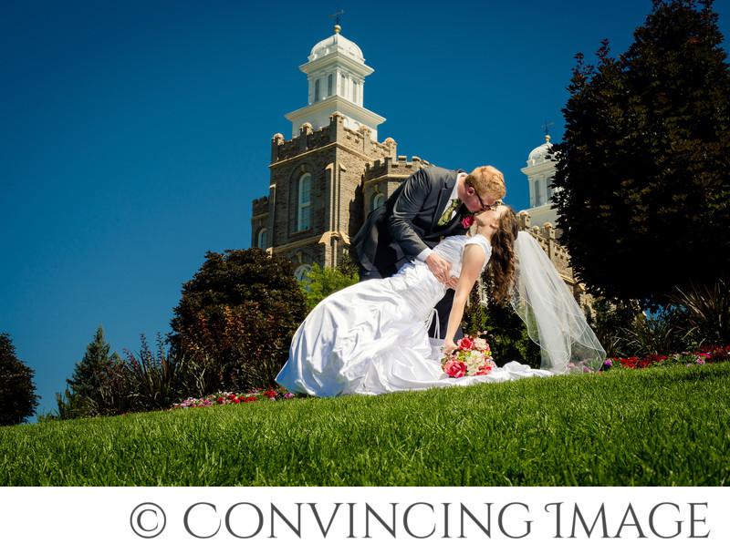 Logan Temple Wedding Photographer