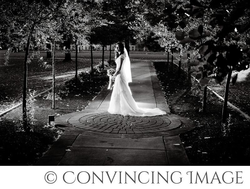 Old Rock Church Wedding Photo